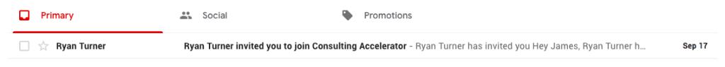 sam ovens gmail invitation