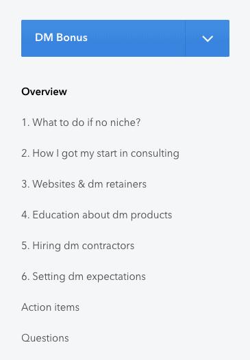 consulting accelerator bonus week