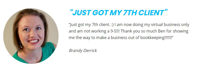 bookkeeper business launch brandy derrick