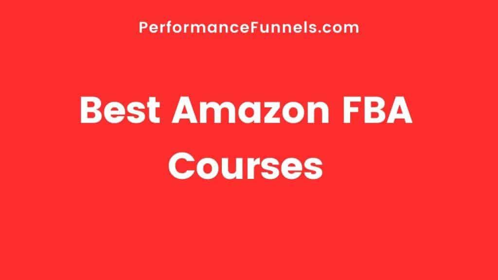 Best Amazon FBA Courses Hero Image