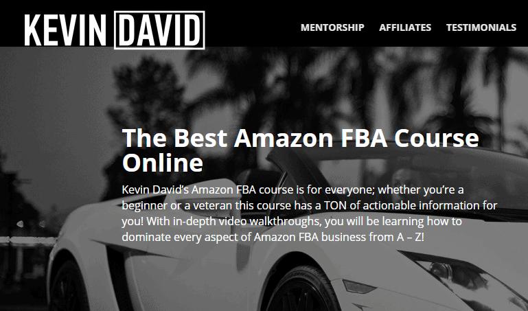 Amazon FBA Ninja by Kevin David - Best Amazon FBA Courses 2020