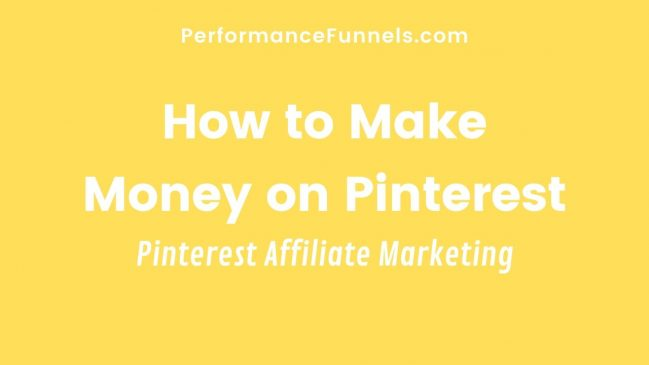 pinterest affiliate marketing hero image