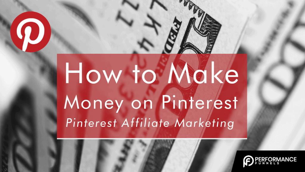How to make money on Pinterest